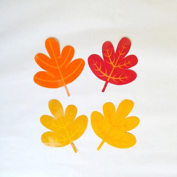 Őszi falevelek nyomtatható