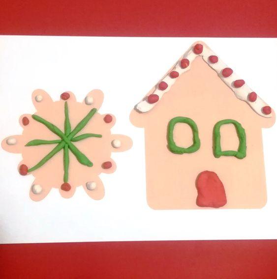 karácsonyi gyurmázós játékok