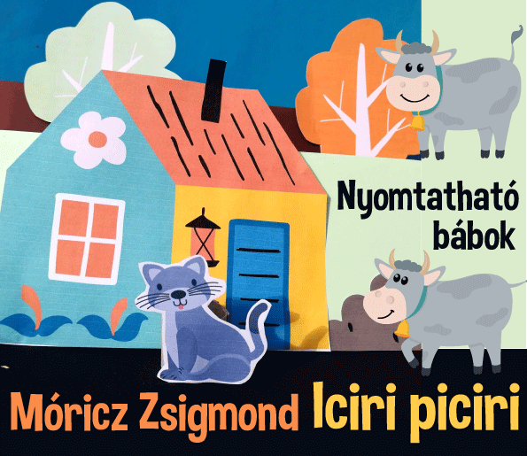 Bábok Mórciz Zsigmond: Iciri-piciri verséhez