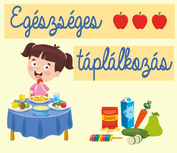 Egészséges táplálkozás – nyomtatható játékok