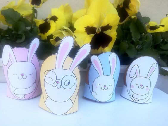 nyomtatható húsvéti tojástartó