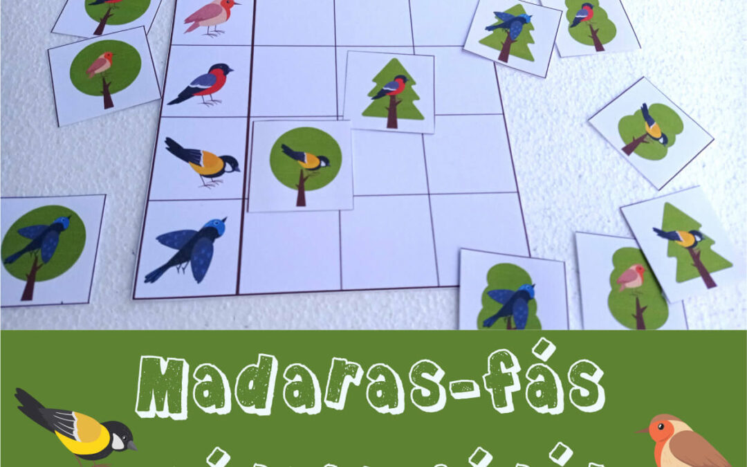 Mátrix játék madarak és fák napjára