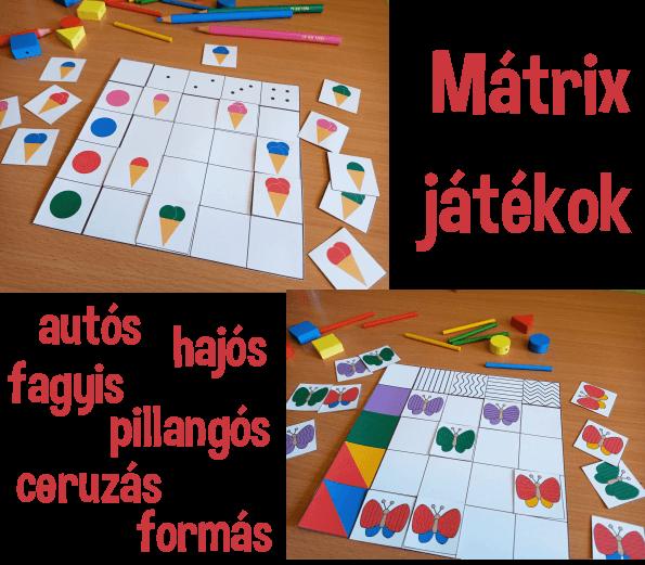 Mátrix játékok